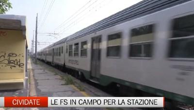 Stazione nel degrado a Calcio. Il sindaco di Cividate incontra le Ferrovie.