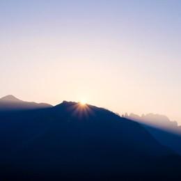 Alba a 2000 metri
