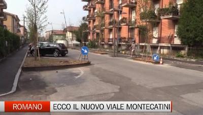 Nuovo look per viale Montecatini Ma a Romano non mancano polemiche