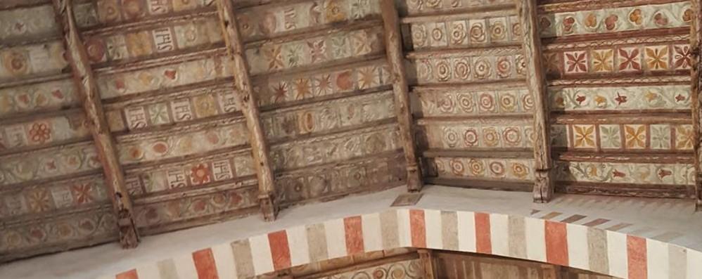 Almenno, lo scrigno del romanico cede Formelle a rischio, San Nicola chiude