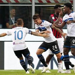 Atalanta, un pareggio tutto cuore Milan acciuffato da Rigoni: è 2-2