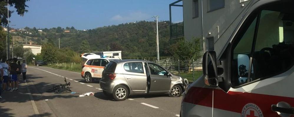 Travolto in bici a Torre de' Roveri Grave un 30enne, altri due feriti