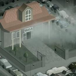 Zone 30 e parcheggio selvaggio a scuola Bozzetto firma 5 video sulla sicurezza