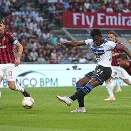 Gasperini: «Con il Milan passi avanti Ora l'Atalanta ha bisogno di continuità»
