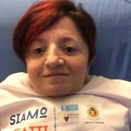 La Toffa e il cancro, lezione da Bergamo «Troppa rabbia, non usatela per ferire»