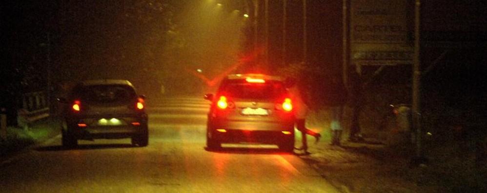 Zingonia, retata anti prostituzione Multe ai clienti per centinaia di euro - Video
