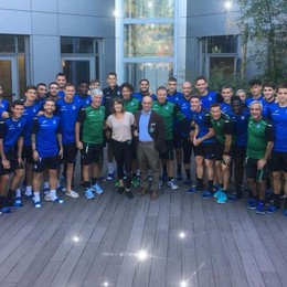 L'Atalanta «a lezione» da Martina Caironi «Un vero esempio di amore per lo sport»
