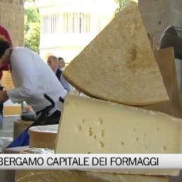Città Alta, Bergamo capitale europea dei formaggi...fino a lunedì