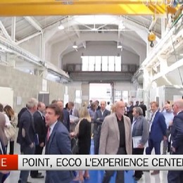 Dalmine, inaugurato l'Experience Center al Point