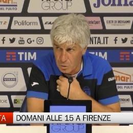 Fiorentina-Atalanta, la vigilia di Gasperini