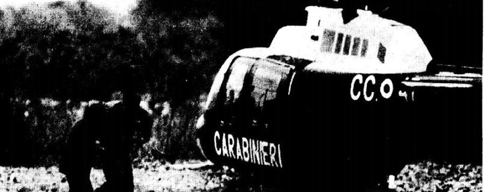 Quarant'anni fa la tragedia dell'elicottero Palazzago ricorda i tre carabinieri morti