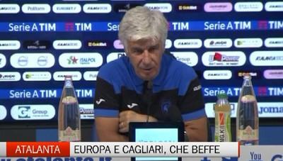 Atalanta-Cagliari 0-1, Gasperini in sala stampa