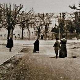 Colle aperto, anzi... arioso Una foto scattata 120 anni fa