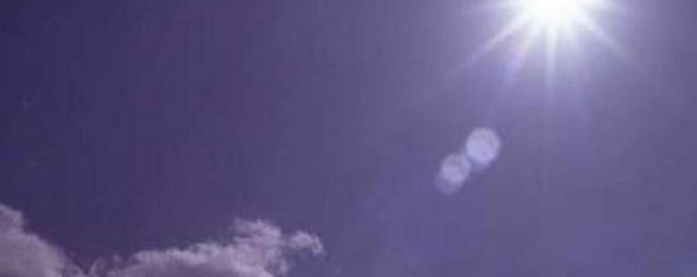 Il sole è tornato, salgono le temperature Nuova settimana all'insegna del sereno