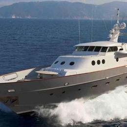 Lo yacht Paolucci a Percassi Dopo il restauro sarà sul mercato