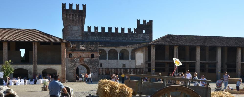 Ma che bel castello L'Eco Cafè a «Caverpaga»