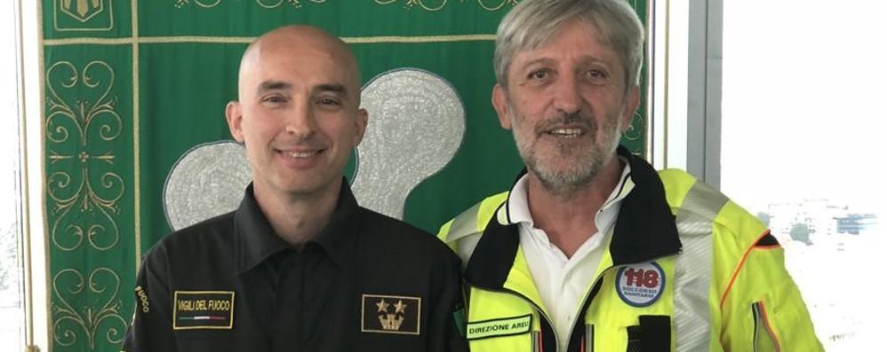 Premiati gli «angeli» del ponte «Siete l'orgoglio della Lombardia»