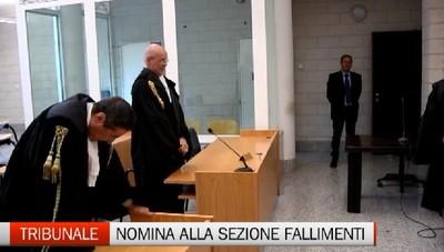 Fallimenti: nominato il nuovo presidente della sezione del Tribunale