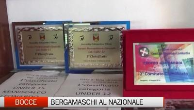 Bocce - Da Bergamo al campionato nazionale juniores