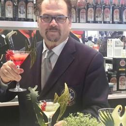 Da Credaro al Principato di Monaco pronto per preparare un drink a Sting