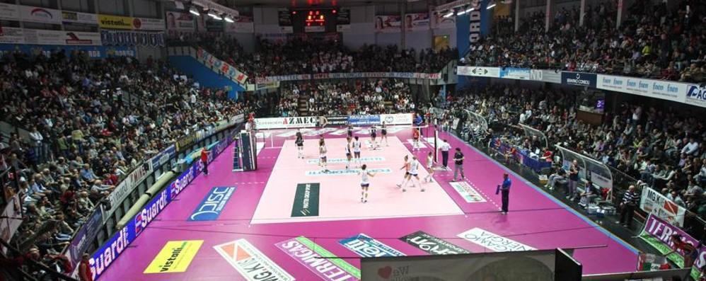 Guerra sul nome del palazzetto  In campo Olimpia e Volley Bergamo