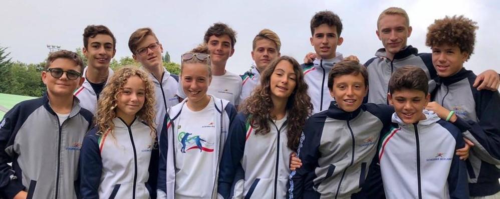 Inizia l'anno della Scherma Bergamo  con atleti nel giro della Nazionale