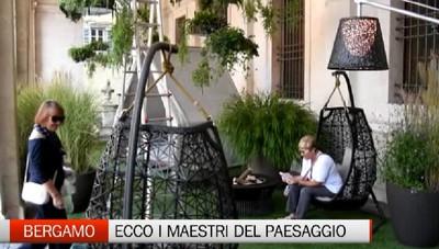 Non solo piazza Vecchia, il verde dei   «Maestri del paesaggio» invade tutta la città