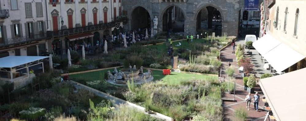 Piazza Vecchia verde (e non solo) I maestri del paesaggio anche nei Borghi