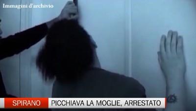 Spirano: maltrattava moglie e figli. Arrestato