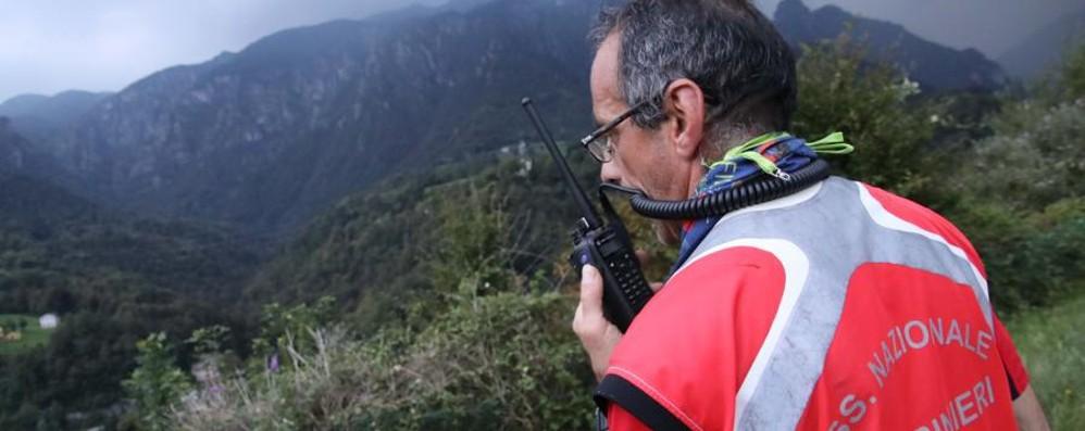 Val Brembana, ricerche con l'elicottero Da mercoledì disperso Bruno Pesenti