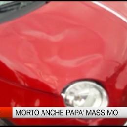 Incidente a Lallio, morto anche papà Massimo