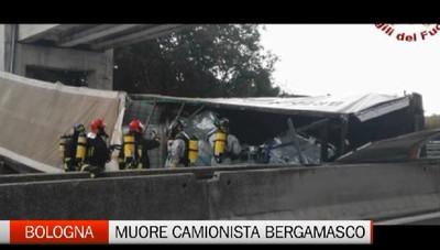 Tragedia in A13: muore camionista di Bariano
