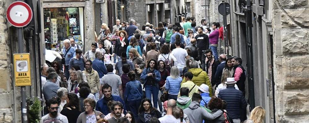 Turismo, agosto da record a Bergamo È il migliore degli ultimi 20 anni