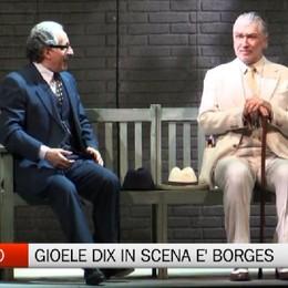 Al teatro Sociale in scena Gioele Dix  Borges, l'amore, il caso e un  finale a sorpresa