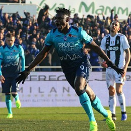 Atalanta-Juventus 2-2:  Super Zapata, poi il pari di Cristiano Ronaldo