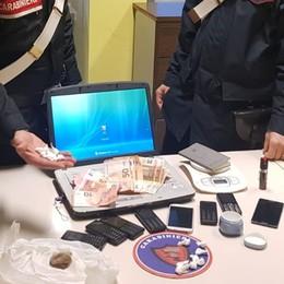 Trovato con 16 dosi di cocaina ed hashish  Arrestato spacciatore a Verdello
