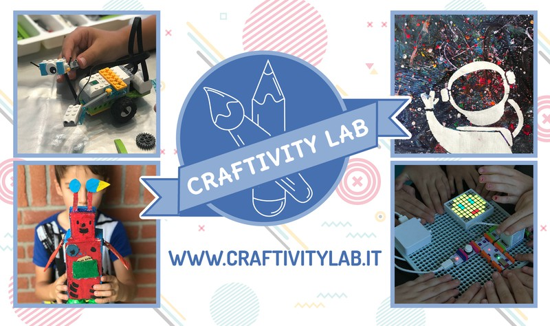 CRAFTIVITY LAB - LABORATORI CREATIVI IN INGLESE PER BAMBINI
