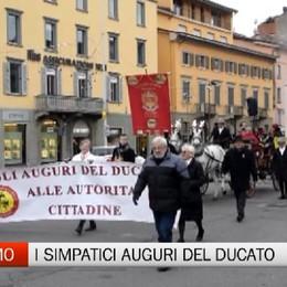 Ducato di Piazza Pontida, gli auguri alle autorità