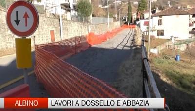 Valle del Lujo, interventi a Dossello e Abbazia