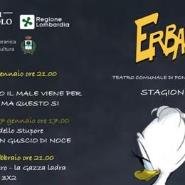 Teatro Erbamil, stagione al via Sabato si ride con Giulia Pont