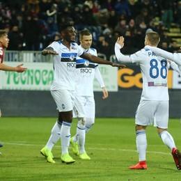 Atalanta super, blitz a Cagliari Ora concentrazione sul campionato
