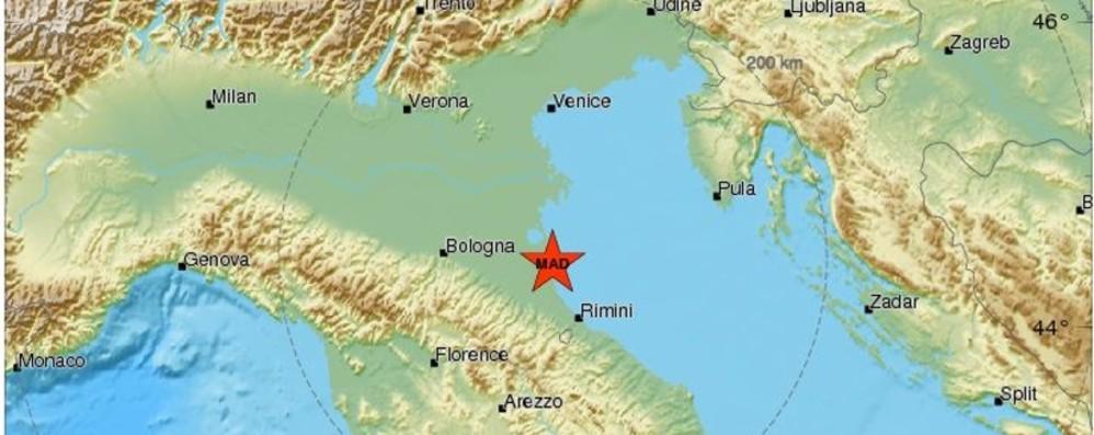 Ravenna, terremoto magnitudo 4.6 Avvertito in tutto il Nord-Est, scuole chiuse
