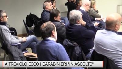 Treviolo - I carabinieri in ascolto