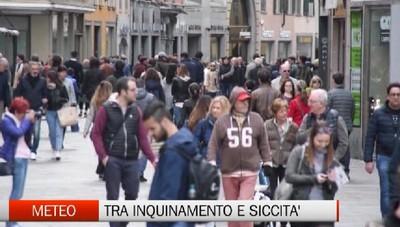 Bergamo sotto lo smog ma arriva la pioggia (anche se troppo poca)