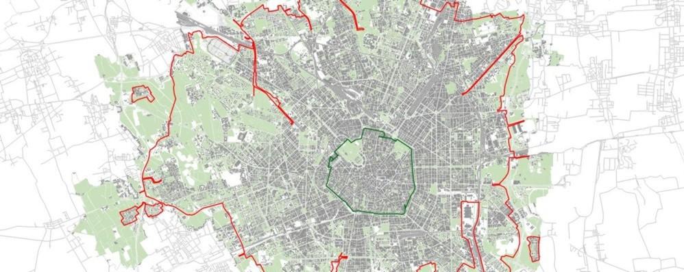 Milano, dal 25 febbraio arriva l'Area B Divieto di accesso ai veicoli più inquinanti