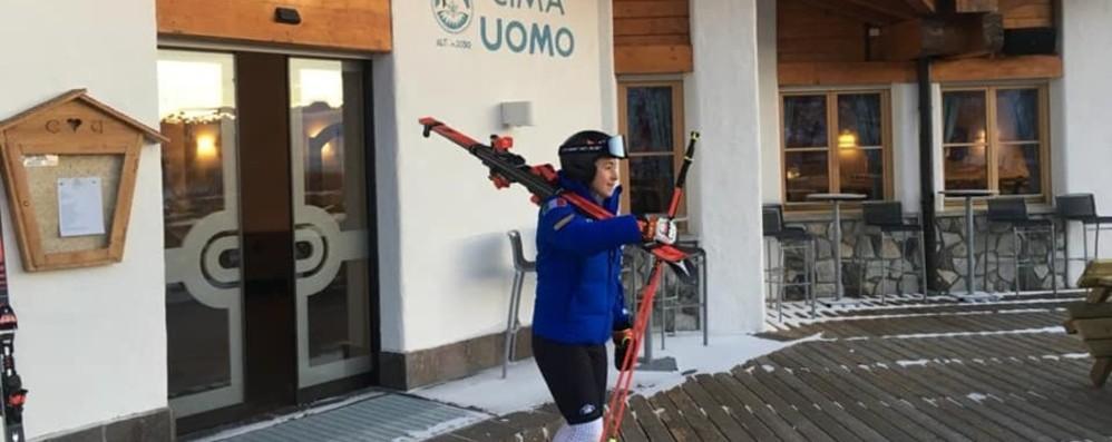 Sofia Goggia sulle piste della Val di Fassa Punta ai Mondiali di Are in febbraio