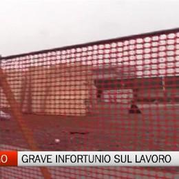 Gorlago - Grave infortunio sul lavoro