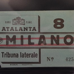 Il tesoro del maresciallo/5 I biglietti nella storia dell'Atalanta