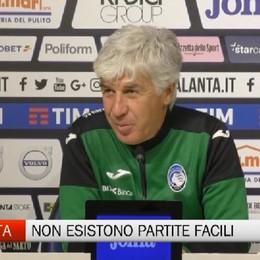 Atalanta - Gasperini: Vogliamo vincere, ma non esistono partite facili