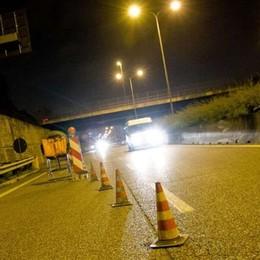 Cantieri per i nuovi lampioni a led L'asse interurbano chiude di notte
